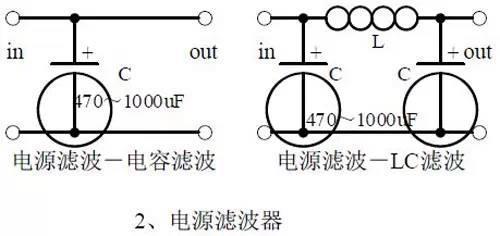 电路二,电源滤波器