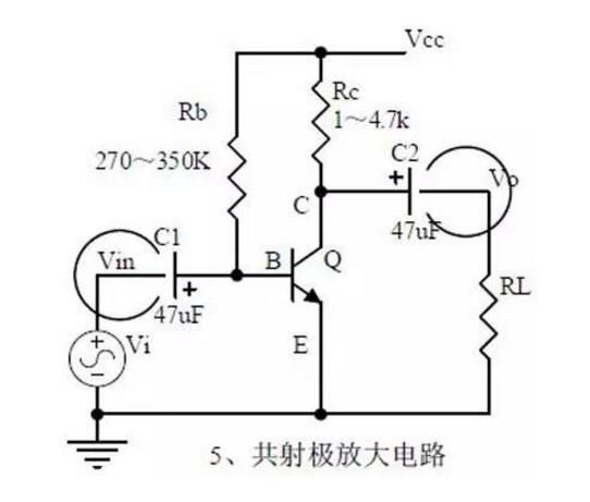1,三极管的结构,三极管各极电流关系,特性曲线,放大条件.