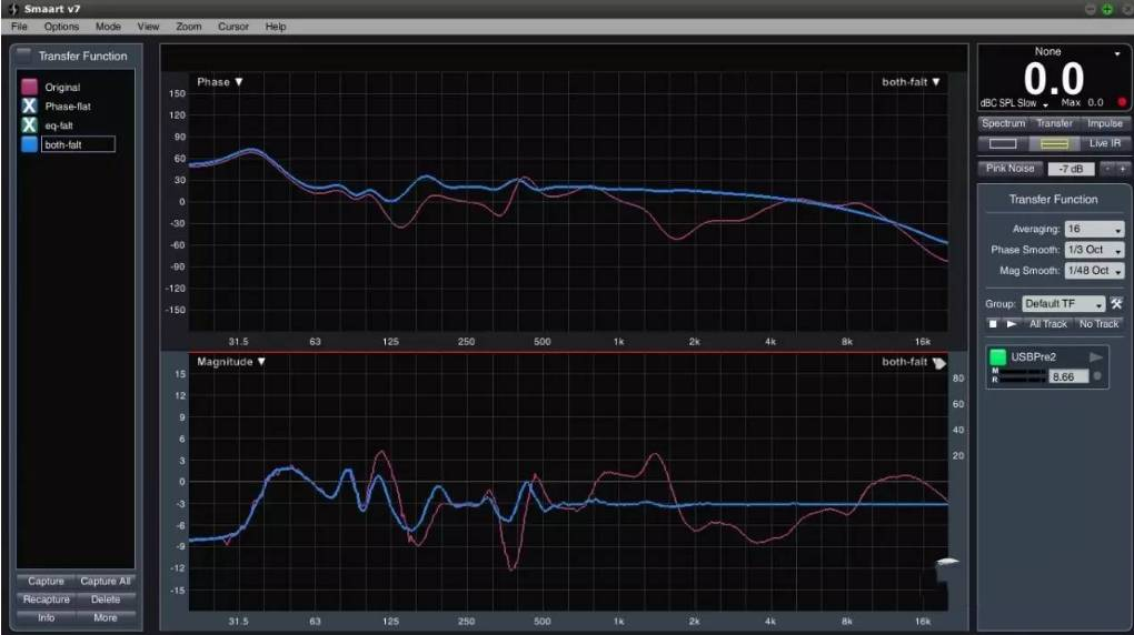 使用了fir滤波器的音响系统会有额外的延时,而iir因为可以用模拟电路
